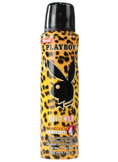 Playboy Playboy Play It Wıld Bayan Deodorant 150 Ml Renksiz